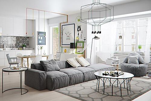Квартира в скандинавском стиле 3