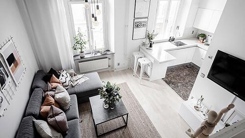 дизайн квартиры студии 2